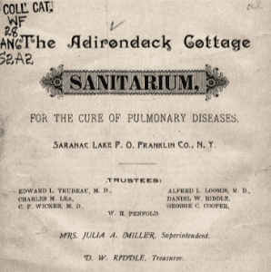 First page of an 1887 Brochure