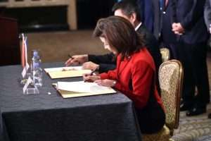Lieutenant Governor Hochul Signs Memorandum of Understanding with China's Ministry of Commerce to Promote Trade and Economic Development