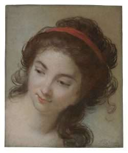 Head of a Woman by Elisabeth Vigée Le Brun