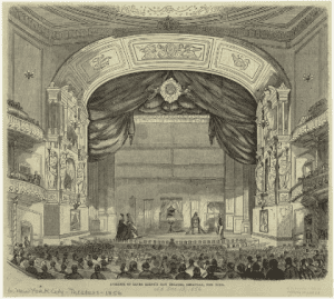 Interior of Laura Keenes New Theatre