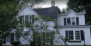 Ira Harris Home at 4 Cherry Tree Road, Loundonville, NY