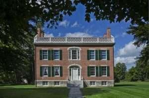 James Vanderpoel House of History a 1820 Federal-era mansion