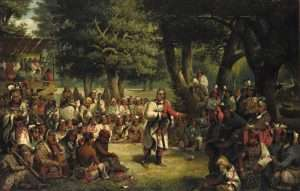 John Mix Stanley, The Trial of Red Jacket, 1869, oil on canvas, Smithsonian American Art Museum