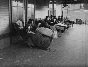 Patients on Cure Chairs at the Cottage Sanatorium