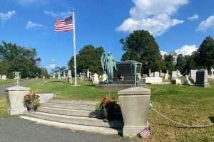 President Chester Arthur grave courtesy Albany Rural Cemetery