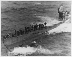 Capture of German Submarine U-505 courtesy Naval History & Heritage Command