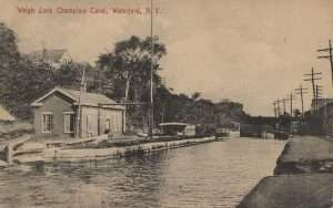 Weigh Lock on the Champlain Canal in Waterford NY