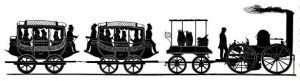 Brown's train silhouette