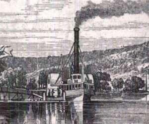 Lake George Steamer John Jay at Cook's Landing