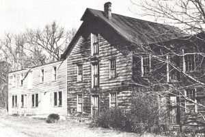 Parkis Mills prior to demolition 1979