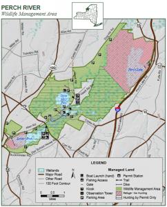 Perch River WMA Map