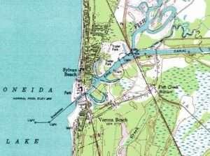 Map of Sylvan Beach